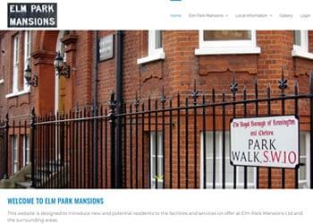 WordPress-website-ELm-Park-Mansions